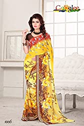 soham enterprise Multicolor Coloured 6 Fabulouse Saree