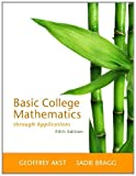img - for Basic College Mathematics through Applications (5th Edition) book / textbook / text book