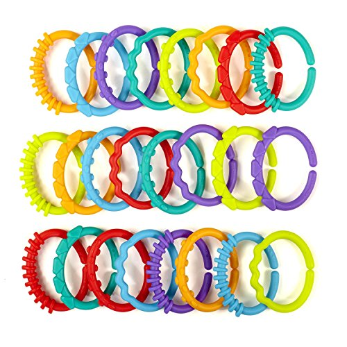 Bright Starts Lots of Links Accessory Toy (Interlocking Rings compare prices)