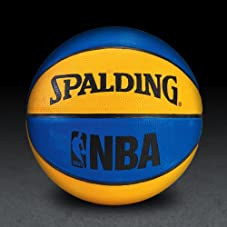 NBA Mini Basketball - Blue/Orange