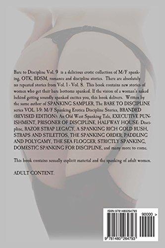 BARE TO DISCIPLINE VOLUME 9; M/F Spanking Erotica Discipline Stories