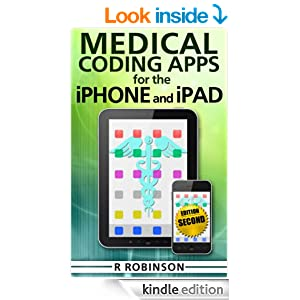 Kindle Book about medical coding apps on iOS devices