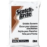 3M Scotch-Brite Griddle Screen - Pack = 20