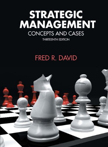 Strategic Management (13th Edition)