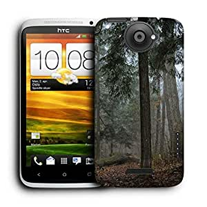 Snoogg Dried And Broken Tree Printed Protective Phone Back Case Cover For HTC One X