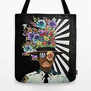 .com: Society6 - Zimbardo Tote Bag by Eugenia Loli: Sports & Outdoors