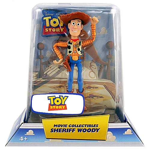 Disney / Pixar Toy Story Exclusive Movie Collectible Figure Sheriff Woody