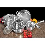 7 Piece Stainless Steel Cookware