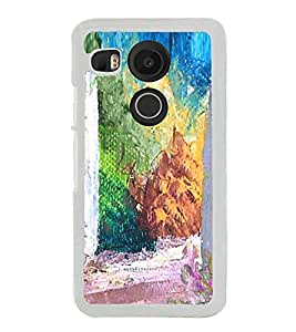 Colourful Painting 2D Hard Polycarbonate Designer Back Case Cover for LG Nexus 5X :: LG Google Nexus 5X New