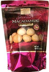 Savanna Orchards Gourmet Macadamias Roasted & Salted 16oz