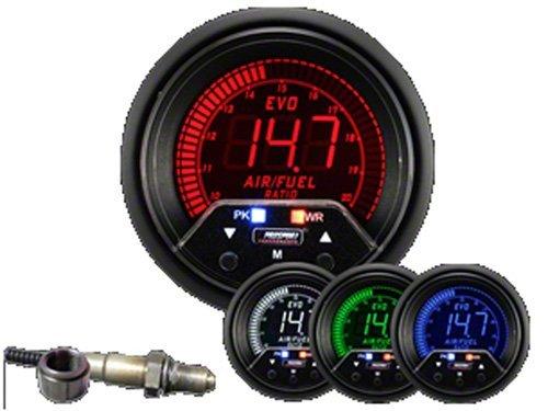 Prosport 60mm Premium EVO Wideband Digital Air Fuel Ratio Kit 238EVOAFRPK4.9-WO (Prosport Air Fuel Ratio Gauge compare prices)