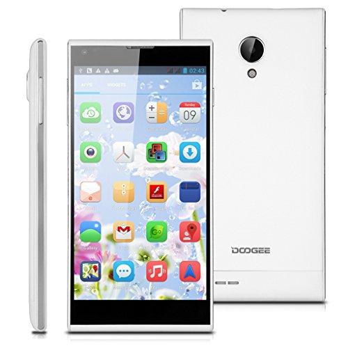 Weiß DOOGEE Octa-Core 1.7Ghz 3G-Smartphone