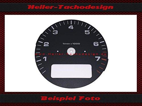 Tachoscheibe Porsche 911 964 993 Drehzalmesser mit Borcomputer