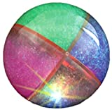 Quad Sectional Glitter Bouncy Ball - 65mm