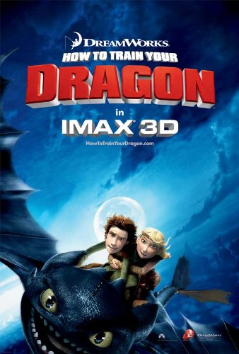 How to Train Your Dragon Poster Movie C 11x17 Jay Baruchel Gerard Butler America Ferrera