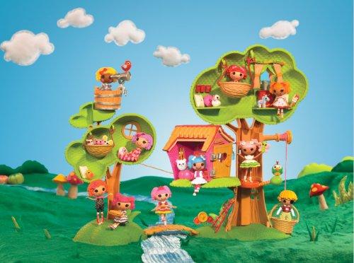 Imagen 7 de Zapf Creation 506775E4C - Mini Lalaloopsy, Casa del árbol (plástico)