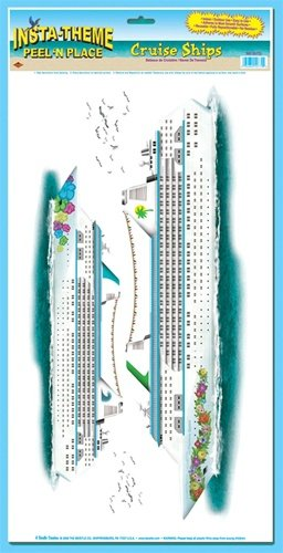 Cruise Ships Peel 'N Place (2 flocks of seagulls included) Party Accessory  (1 count) (2/Sh)
