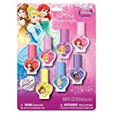 Disney Princess - 7 Pack Multicolor Nail Polish Set