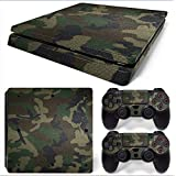 Gam3Gear Vinyl Decal Protective Skin Cover Sticker for PS4 Slim Console & Controller - Urban Camouflage v2 (Color: Urban Camouflage v2)