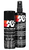 K N 99-5000 Aerosol Recharger Filter Care Service Kit