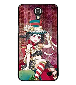 ColourCraft Beautiful Girl Design Back Case Cover for SAMSUNG GALAXY MEGA 2