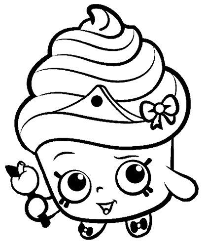 Shopkins Coloring Pages Spilt Milk