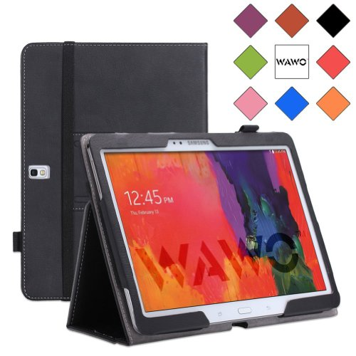 Wawo Samsung Galaxy Tab Pro 10.1 Inch Tablet Smart Cover Folio Case - Black