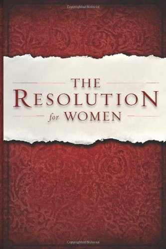 The Resolution for Women, Shirer, Priscilla