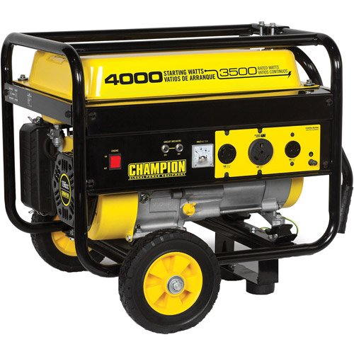 3500/4000-Watt Portable Gas-Powered Rv Ready Generator, 196Cc 4 Stroke Ohv