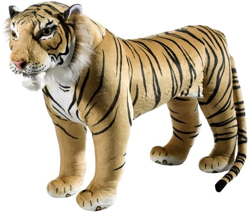 Heunec 723474 - Tiger Standing with Sound 100 kg Loading Capacity