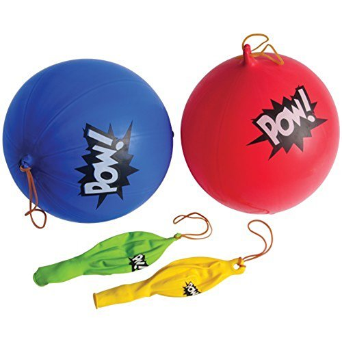 Superhero Punch Balls
