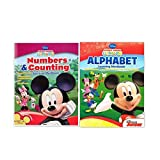 Mickey Mouse Clubhouse Workbook And Flashcard Learning Bundle (Set Of 2) Includes (1) Alphabet Learn
