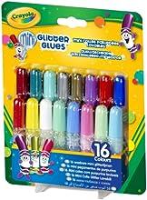 Comprar Crayola - 16 mini pegamentos de purpurina (69-4200)