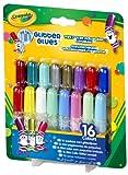 Crayola 16 Pipsqueak Glitter Glues