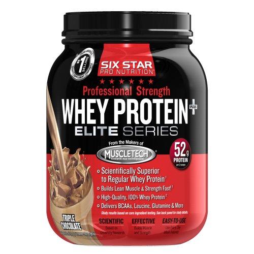 Six Star Pro Nutrition Strength Protein, Chocolate, 2-Pound