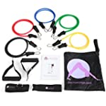 Aurorae Fitness Resistance Bands Set...