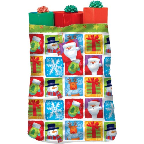 Holiday Friends 44in x 36in Giant Gift Sack