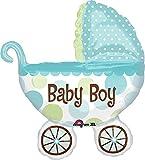"Anagram International Baby Buggy Boy Shape Foil, 31"", Multicolor"