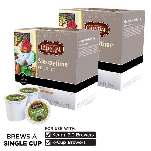 Celestial Seasonings Sleepytime Tea 180 K-Cup Packs