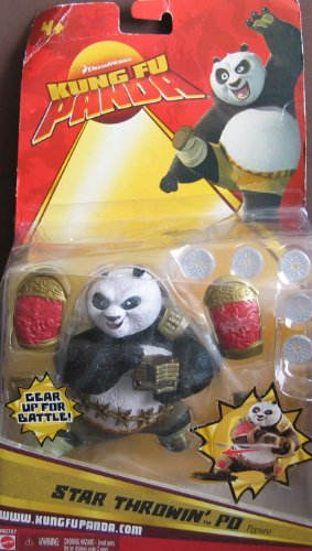 Buy Low Price Dreamworks Kung Fu Panda Star Throwin' Po Figure (2007) (B002VY9PM2)