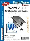 Word 2010 für Studenten und Schüler