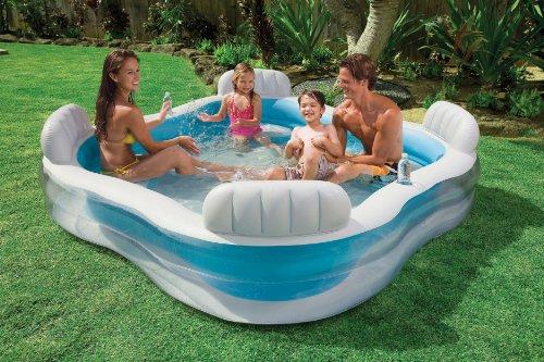 Opiniones de color baby piscina hinchable con asientos 882 l comprar en juguetes - Piscina hinchable con asientos ...