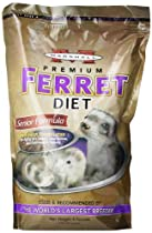 Marshall Premium Ferret Diet Senior Formula, 4-Pound Bag