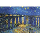 Starry Night over the Rhone, c.1888 24x36 Poster Vincent Van Gogh