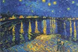 Vincent Van Gogh Starry Night Over the Rhone 24x36 Poster
