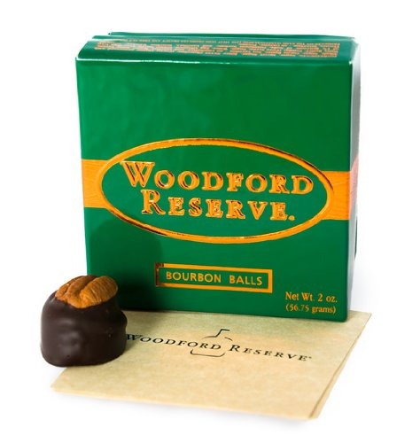 Pack of 4 Woodford Reserve Bourbon Balls 4 pc Gift Boxes (16 candies)
