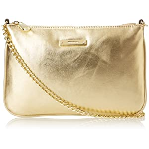 Nine West Item Clutch SM Clutch,Oro,One Size