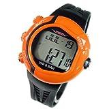 [テルバ]TELVA 腕時計 心拍計測機能付 デジタル メンズウォッチ TEV-2513-OR オレンジ メンズ [正規輸入品]
