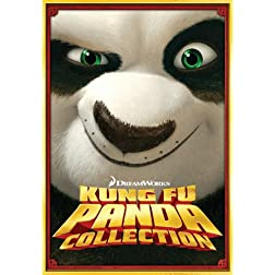 Kung Fu Panda Three-Disc DVD Boxed Set (Kung Fu Panda / Kung Fu Panda 2 / Secrets of the Masters)
