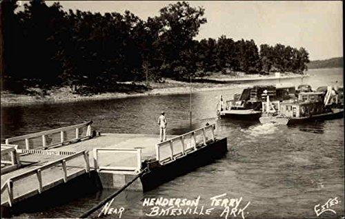 Henderson Ferry in Batesville, Arkansas